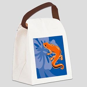 Newt Gel Mousepad Canvas Lunch Bag