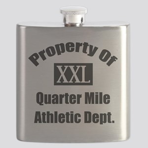 Property XXL Quarter Mile Athletic Departmen Flask