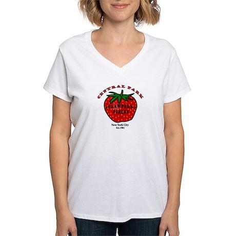 Central Park Women's V-Neck T-Shirt
