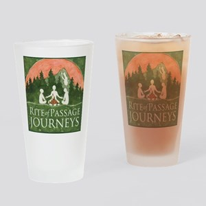 Journeys Logo Drinking Glass