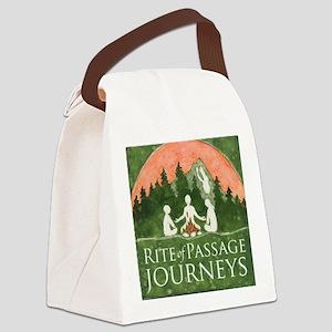 Journeys Logo Canvas Lunch Bag