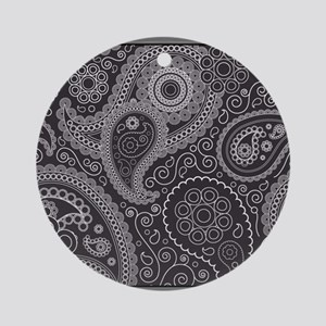 paisley 2 top Round Ornament