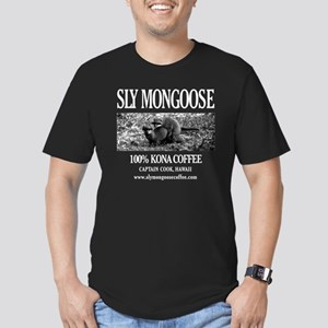 Sly Mongoose Kona Coff Men's Fitted T-Shirt (dark)