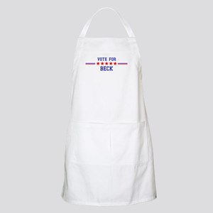 Vote for Beck BBQ Apron