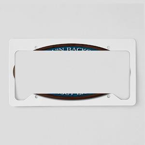 Algonquin Lake Trout License Plate Holder