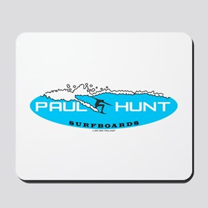 Paul Hunt Surfboards Mousepad