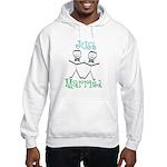 Just Married Groom-Groom Hooded Sweatshirt