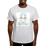 Just Married Groom-Groom Light T-Shirt