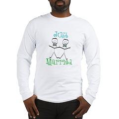 Just Married Groom-Groom Long Sleeve T-Shirt