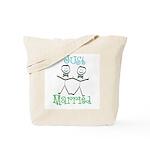 Just Married Groom-Groom Tote Bag