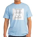 2 Grooms Forever Light T-Shirt