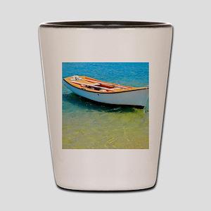 Floating Boat Shot Glass