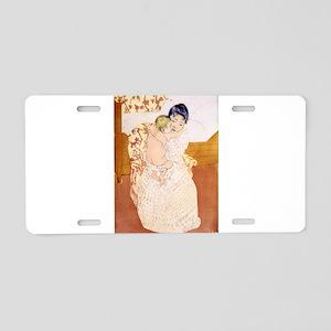 Maternal caress - Mary Cassatt - 1891 Aluminum Lic