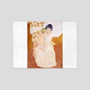 Maternal caress - Mary Cassatt - 1891 5'x7'Area Ru