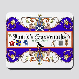 Jamie's Sassenach  Mousepad