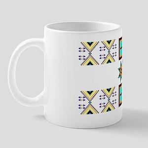 Butterflies and Star Designs Mug