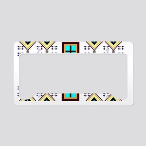 Butterflies and Star Designs License Plate Holder