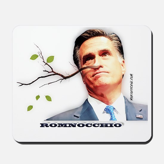 Mitt Romney - Romnocchio Mousepad