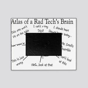 Atlas of a Rad techs brain Picture Frame