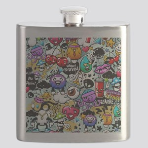 Cool Graffiti Flask