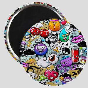Cool Graffiti Magnet