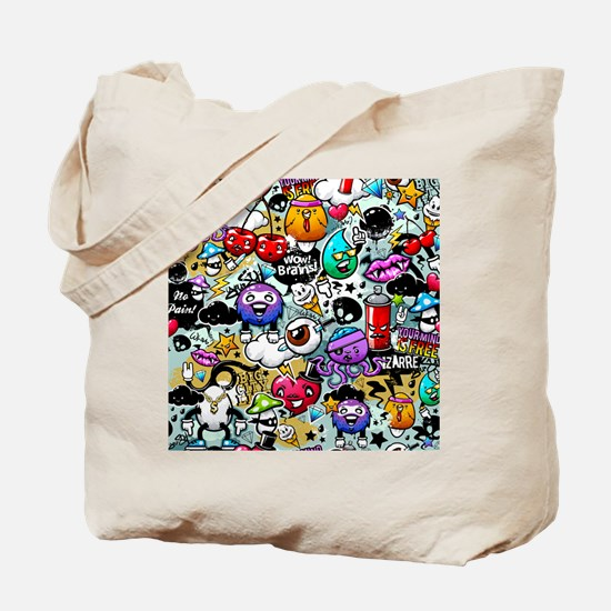 Cool Graffiti Tote Bag
