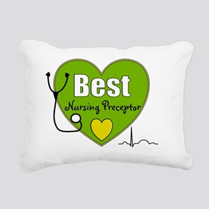 best nursing preceptor g Rectangular Canvas Pillow