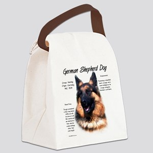 Longhair GSD Canvas Lunch Bag