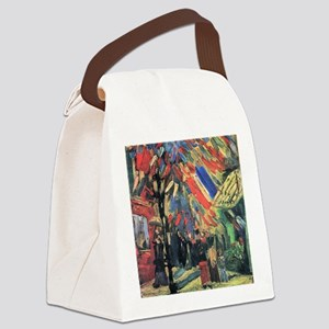 Van Gogh 14 July in Paris Canvas Lunch Bag