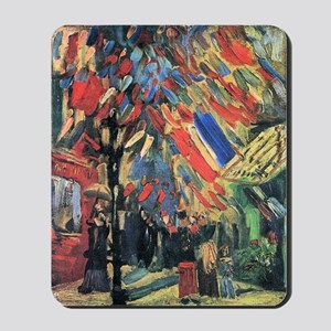 Vincent Van Gogh 14 July In Paris Mousepad