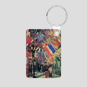 Vincent Van Gogh 14 July I Aluminum Photo Keychain
