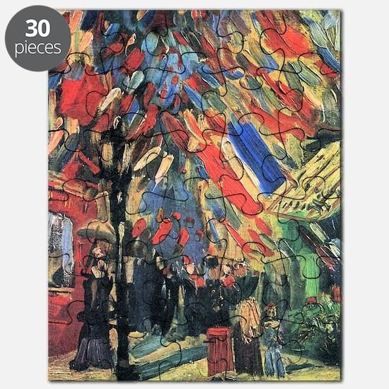 Vincent Van Gogh 14 July In Paris Puzzle