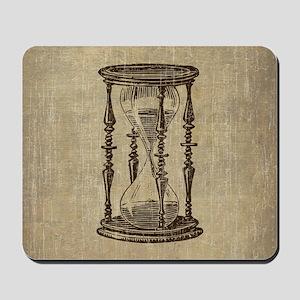 Vintage Hourglass Mousepad
