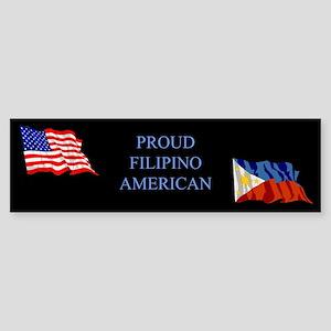 Proud Filipino #1 Gifts Bumper Sticker