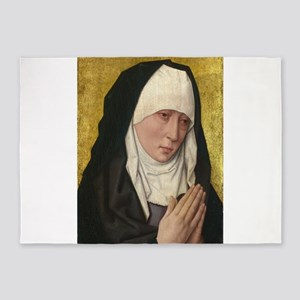 Mater Dolorosa - Dieric Bouts 5'x7'Area Rug