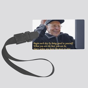 Good to yourself Large Luggage Tag