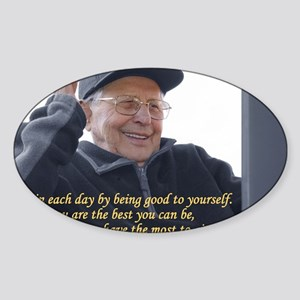 Good to yourself Sticker (Oval)