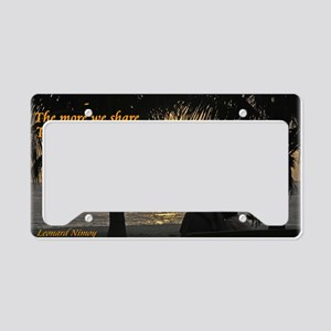 share License Plate Holder