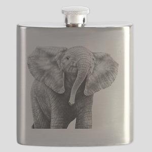 Baby African Elephant Power Bank Flask