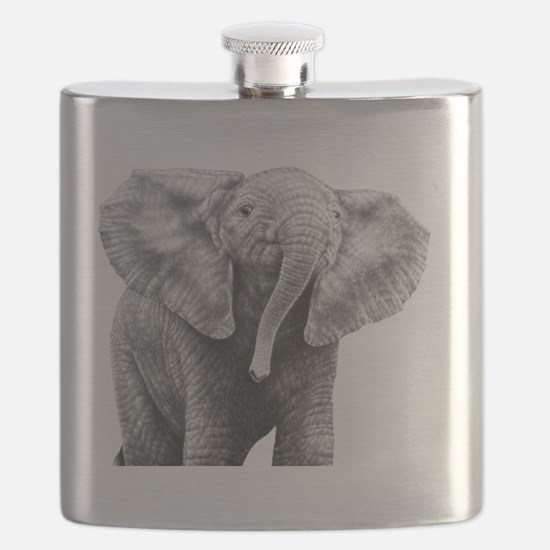 Baby African Elephant Power Bank Flask