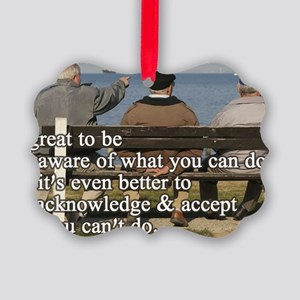 You can do Picture Ornament