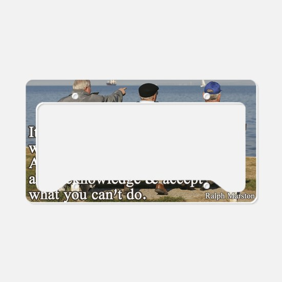 You can do License Plate Holder