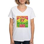 Let's Pretend Women's V-Neck T-Shirt
