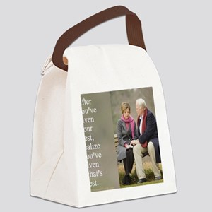 Give your best Canvas Lunch Bag