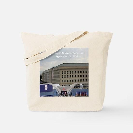 Pentagon Memorial Dedication Tote Bag