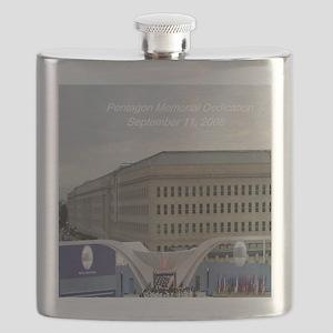 Pentagon Memorial Dedication Flask