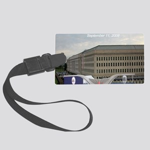 Pentagon Memorial Dedication Large Luggage Tag