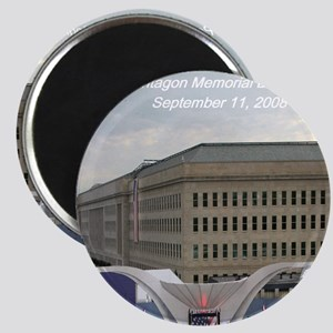 Pentagon Memorial Dedication Magnet