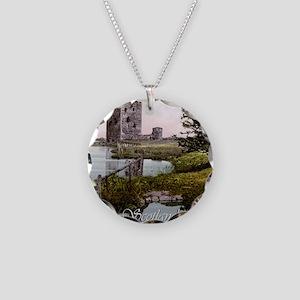 Scotland Threave Castle Necklace Circle Charm