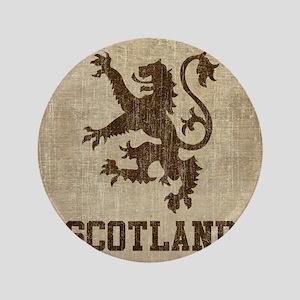 "Vintage Scotland 3.5"" Button"